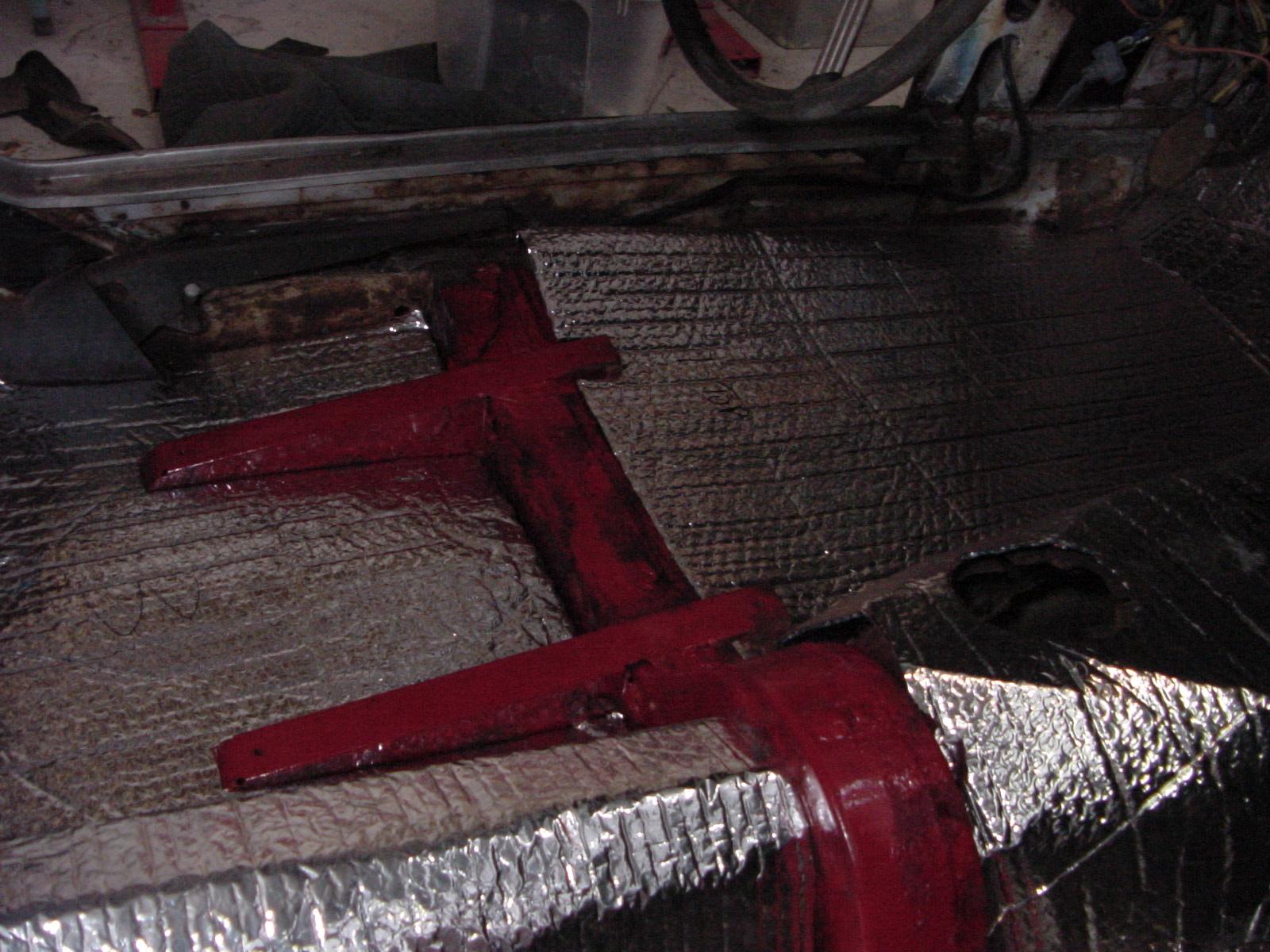 Sunbeam Tiger Sound Deadening And Heat Insulating Mat